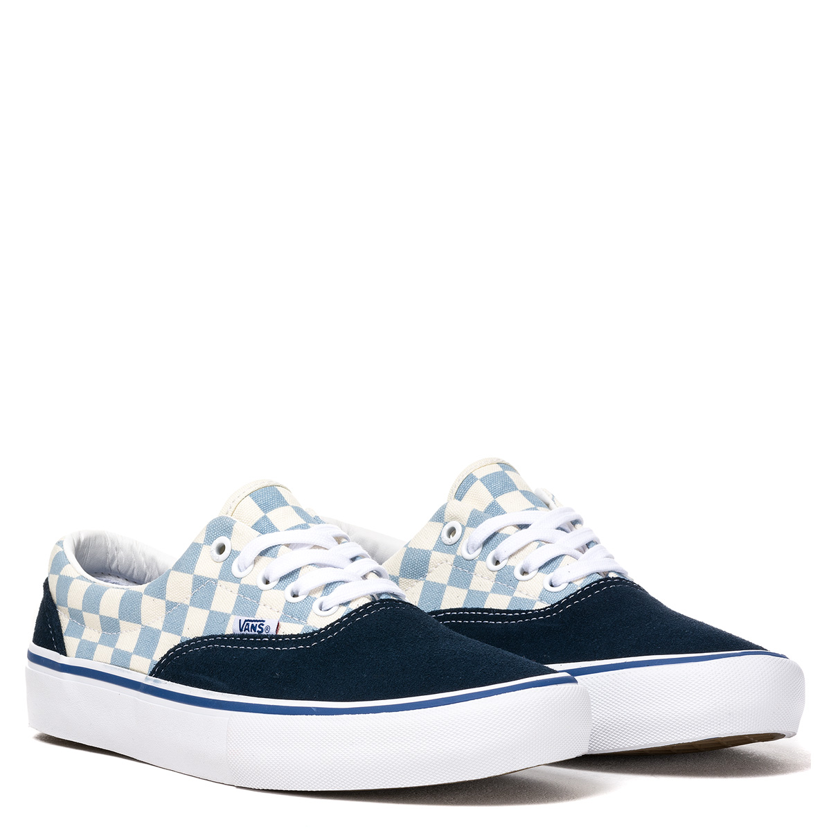 626779e8ec Vans. Era Pro (Checkerboard). Dress Blues - Marshmallow