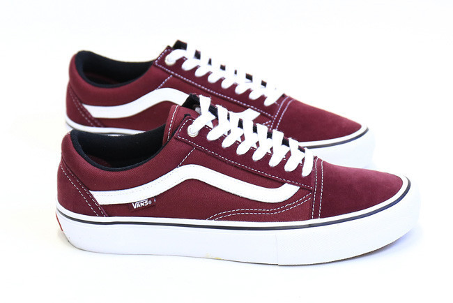 vans old school pro red