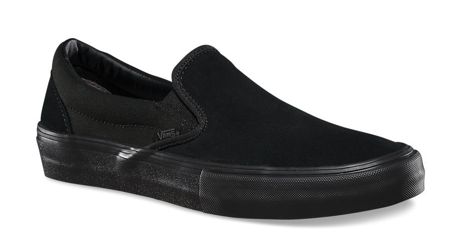 e6619095ffc Vans. Slip-On Pro. Black Blackout