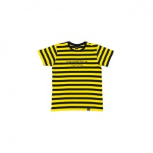 The Navy:Yellow 'Striped' T-Shirt