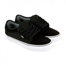 Vans Chukka Low Suede Black - White