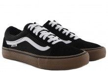 Vans Old Skool Pro Black:White:Medium Gum