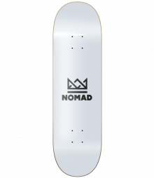 Nomad Skateboards Crown Black Deck