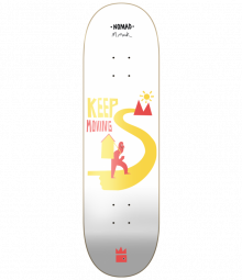 Nomad Skateboards Keep Moving Deck