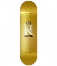 Nomad Skateboards Og Logo Gold Deck